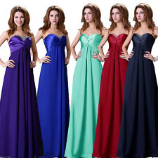 CHEAP! Plus Long Evening Ball Gown Party Formal Prom Bridesmaid Homecoming Dress