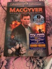 MacGyver - Complete Second Season (Dvd, 2005) Richard Dean Anderson, 6 disc
