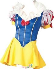 Snow White Adult Classic Fancy Dress Costume Sexy Size 6-12