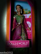 Barbie Mattel Disney Pocahontas Kollektor Dolls of the world Marokko Spain NRFB