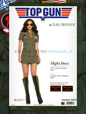 Top Gun Women's Flight Dress Sexy Adult Halloween Costume TG83700 New