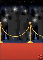 HOLLYWOOD Red Carpet OSCARS MOVIE PARTY Room Roll Decoration FREE P&P