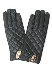 """Michael Kors Damenhandschuhe""""Genuine Quilted Leather w/ Padlock"""""""