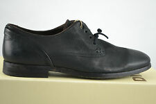 Diesel WOLF Men Black Leather Leder schwarz Shoe Business Schuhe Gr. 42