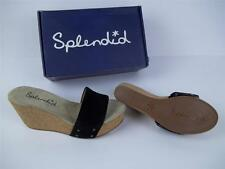 Womens Splendid Greenville Black Wedge Heel Sizes 8.5 & 10 Retail $88 #550