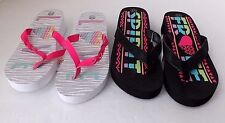 Girls Youth Toddler Kids Braided T Strap Sandals Strappy Shoes Flip Flop