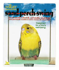 """JW PET BIRD SAND PERCH SWING 5"""" PARAKEET CAGE FREE SHIPPING TO THE USA ONLY"""