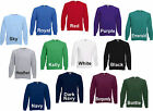 FRUIT OF THE LOOM RAGLAN SWEATSHIRT PULLI TOP SWEATSHIRT 13 FARBEN RÄUMUNG