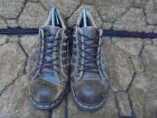 DR MARTENS KEITH LACE UP SHOES  SIZE UK 8  BROWN GOOD CONDITION  CODE-EA615