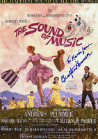 CHRISTOPHER PLUMMER Signed 12x8 Photo THE SOUND OF MUSIC COA