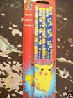 Pokemon Pikachu 5 Pack Pencils Nintendo Licensed in USA Pencil School