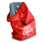 CAR SEAT JL CHILDRESS GATE CHECK TRAVEL BAG FOR BRITAX GRACO NEW RED
