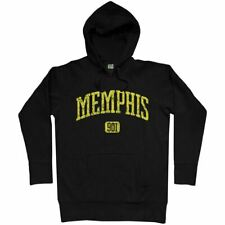 Memphis 801 Hoodie - TN Tennessee Grizzlies Tigers Dirty South Rap - Men S-3XL