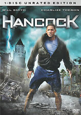 Hancock (DVD, 2008, Unrated Single Disc Version) NEW SEALED