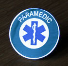 PARAMEDIC STAR OF LIFE PIN BADGE FIRE AMBULANCE HOSPITAL HELICOPTER