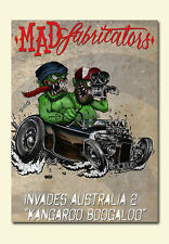 Mad Fabricators Invades Australia DVD Hot Rod Chev Ford Chop Harley