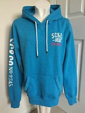 Soulcal & Co Ladies Blue Hoodie Size Uk 12