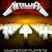 Master of Puppets by Metallica (CD, 1986 Elektra-Blackened) - NEW SEALED