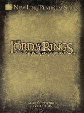 Lord of the Rings: The Motion Picture Trilogy (DVD, 2004, 12-Disc Set Extended