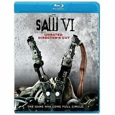 Saw VI (Blu-ray Disc, 2010, 2-Disc Set,Unrated Director's Cut) Widescreen 1:78-1
