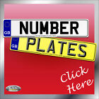 Car Number plates & Show Plates, Registration Plates,