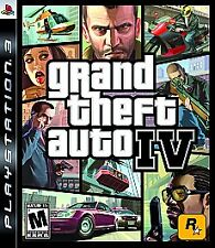 Grand Theft Auto IV 4 GAME (Sony Playstation 3) PS3 w/ Map and Guidebook