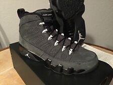 Air Jordan Retro 9 Black Anthracite Suede Altitude Statue Olive White 8 - 13 11