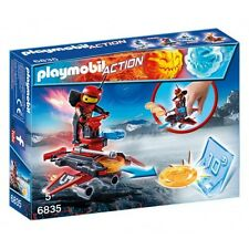 PLAYMOBIL 6835 - ACTION - FIRE-ROBOT CON SPACE-JET LANCIADISCHI GIOCHI N-256755