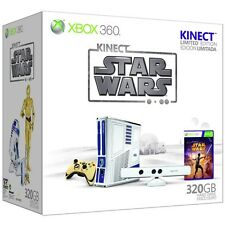 Microsoft Xbox 360 S Kinect Star Wars Limited Edition 320 GB Matte White Console