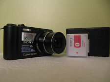Sony Cyber-shot DSC-H55 14.1 MP Digital Camera - Black