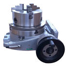 """The 6"""" adapter, 3 jaw chuck and 6"""" rotary table ( table included )"""