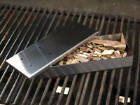 Barbeque Smoker Box, Stainless Steel