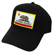 California Republic US State Flag Patch Snapback Adjustable Cap Hat by Project T