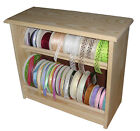 The Ribbon Rack (hand made wooden ribbon storage)