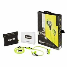 Monster iSport Intensity In-Ear Headphones (GREEN) - High Performance Audio NEW