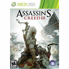 Assassin's Creed III Xbox 360 Game Gamestop Edition 2-disks