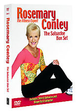 Rosemary Conley Box Set - Slim And Salsacise/Shape Up And Salsacise (DVD, 2006,