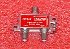 2 WAY COAX SPLITTER HOLLAND ELECTRONICS HFS-2 5-2150Mhz DISH NETWORK APPROVED BN