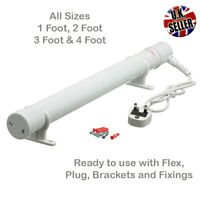 Electric Tube Heater for Greenhouse with mounting Bracket 1ft, 2ft, 3ft, 4ft
