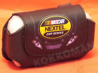 Nascar Nextel Cup Series Leather Cell Phone Belt Pouch Case NEW FREE SHIPPING!
