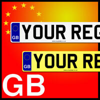 GB NUMBER PLATES, Registration Plates, SHOW PLATE