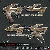 Goose hunting camo decal 4x4 truck sticker