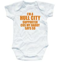 HULL FC SUPPORTER football baby suit 3-6 month