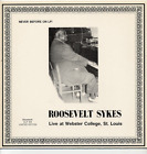 Roosevelt Sykes New blues piano LP Live St. Louis 1974
