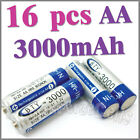 16 AA 2A 3000mAh Ni-MH rechargeable battery BTY cell RC