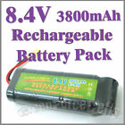 1 x 8.4V 3800mAh Ni-MH Rechargeable Battery Pack RC