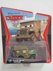 DISNEY PIXAR CARS 2 #15 RACE TEAM SARGE GREEN