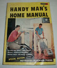 1955 Handy Man's Home Manual A Fawcett How to Book