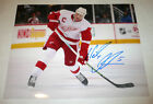 DETROIT RED WINGS NICKLAS LIDSTROM SIGNED AUTHENTIC 11X14 PHOTO w/COA PROOF NHL