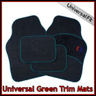 UNIVERSAL Car Carpet Mats MERCEDES BENZ Green Set